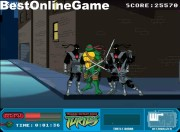 Turtles Ninja - Foot Clan Street Brawl