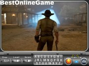 Cowboys and Aliens Find the Alphabets Game