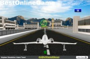 Airplane Simulation: Island Travel