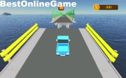 Broken Bridge Car Driving