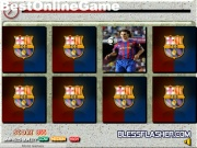 barcelona FC pair card